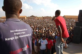 Over 4,000 Malawians attended the Sensitization event on the 25th of October in Lilongwe, Malawi.