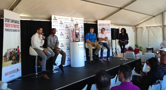 Barclays trophy event panel