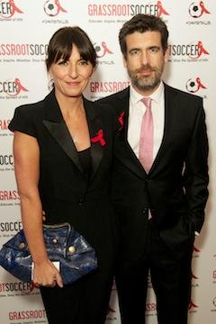 Davina McCall and Matt Robertson