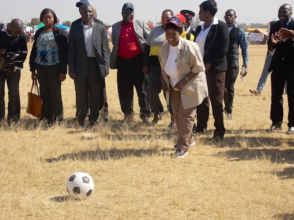 First Lady of Zambia VCT Tourney 2015