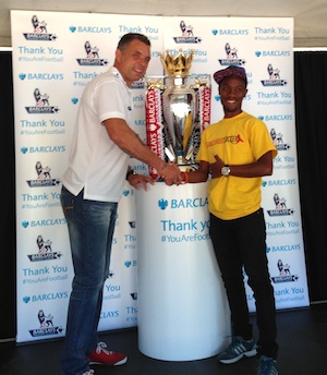 Mark Fish with GRS Coach and trophy