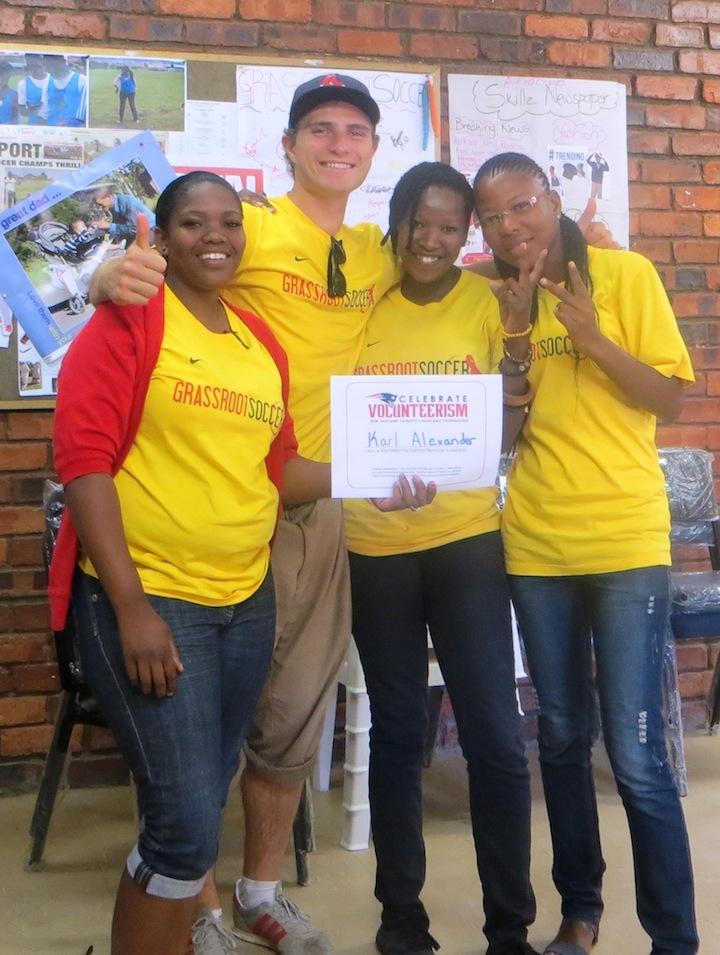 GRS volunteers Alexandra, Johannesburg, South Africa