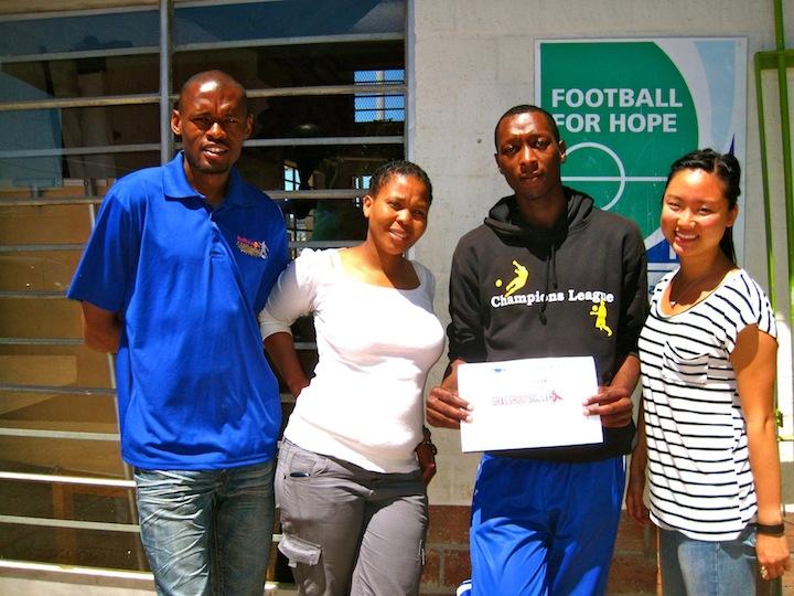 GRS volunteers Khayelitsha, South Africa