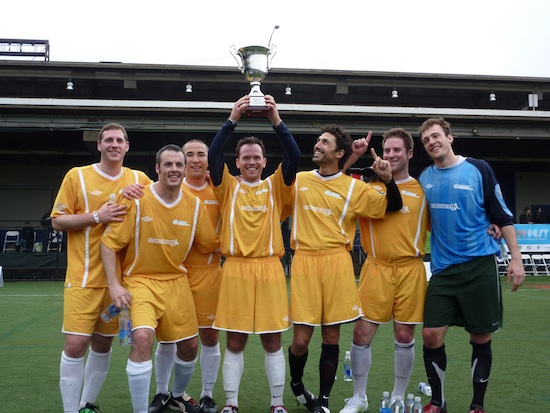 Grassroot Soccer wins at NYFEST 2011