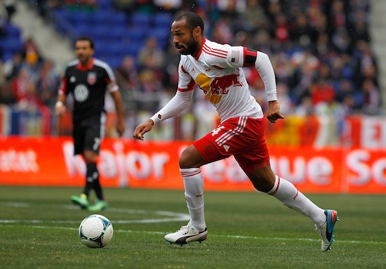 Thierry Henry in action