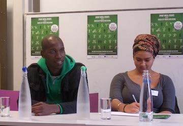 Lunga Sidzumo speaks on OSF panel