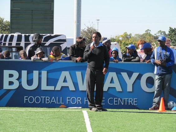 Methembe Ndlovu at FFHC