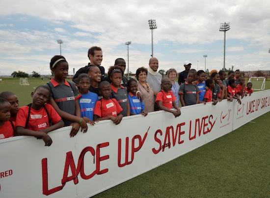 Nike and Grassroot Soccer Celebrate World AIDS Day