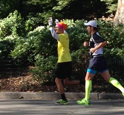 Roger Levesque NYC marathon