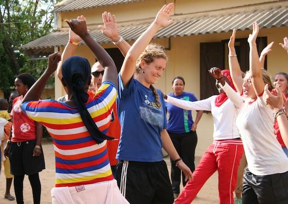 SKILLZ Girl Training Senegal