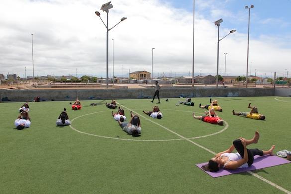Yoga at Centre