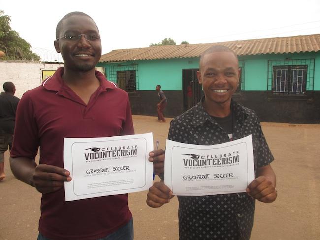 GRS Zambia volunteers