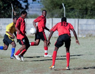 Bantu Rovers in action