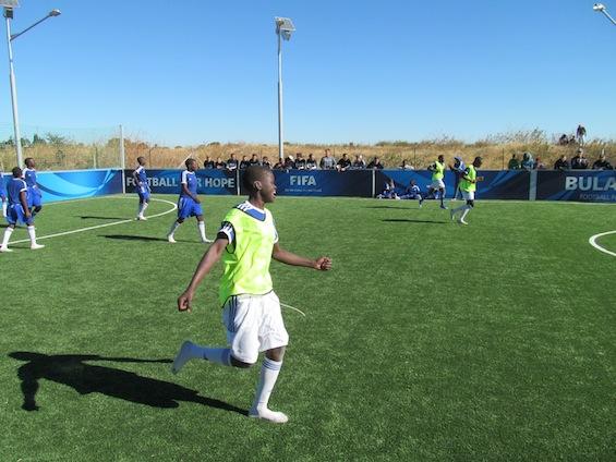 Soccer at the FFHC Bulawayo