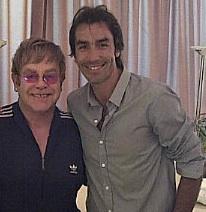 Elton John and Robert Pirès