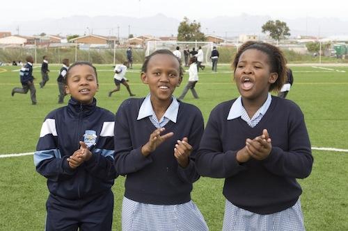 Girls in Khayelitsha