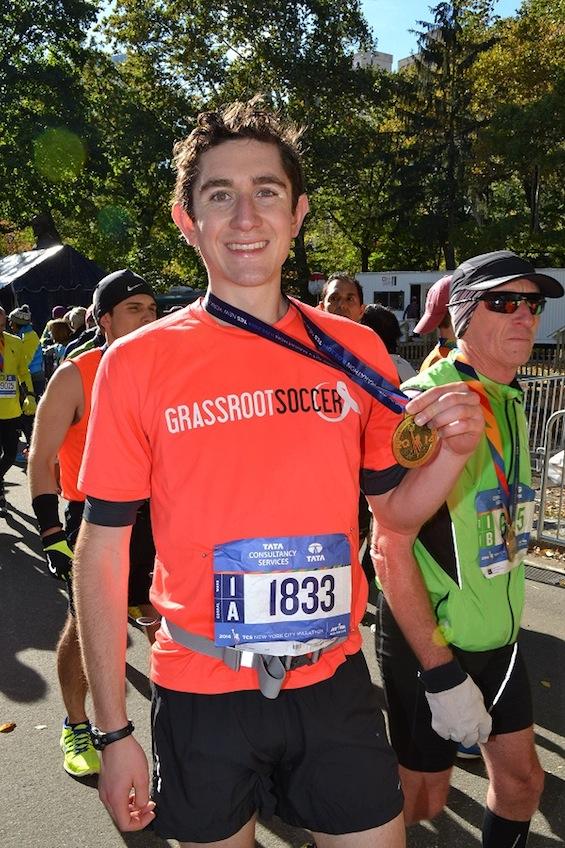 Josh Elkes NYC Marathon