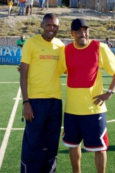 Michel Sidibé and GRS Coach