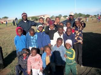 Boys team at Ulwazi HCT