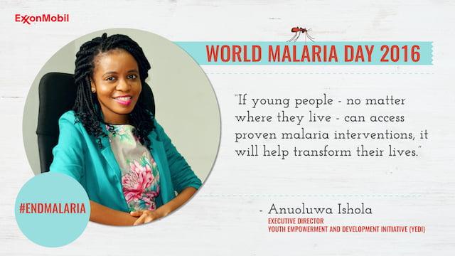 YEDI & ExxonMobil World Malaria Day