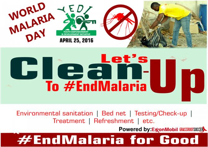 YEDI World Malaria Day 2016