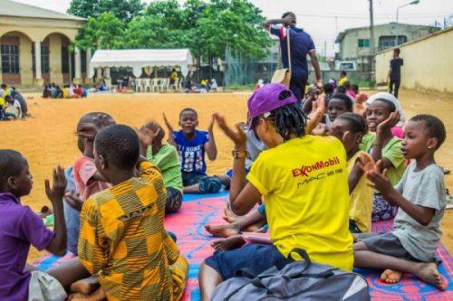 Malaria practice in session