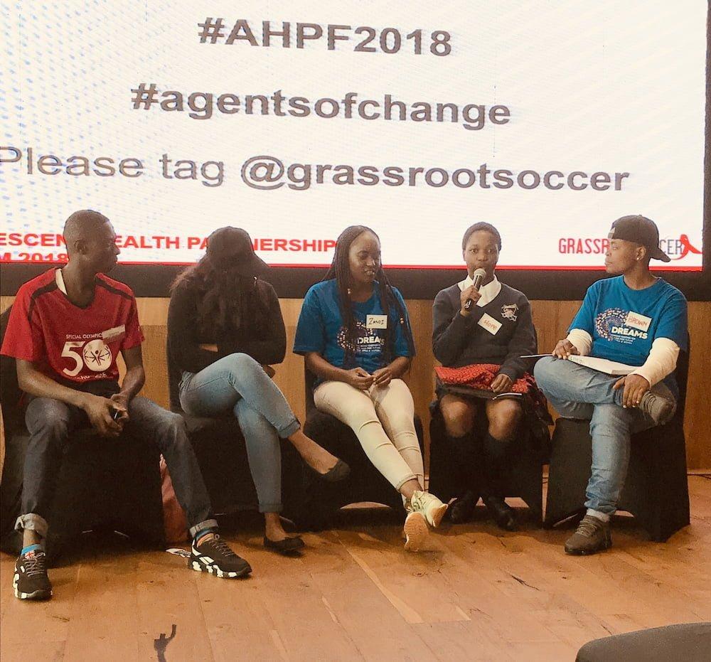 Adolescent Health Partnership Forum 2018 Youth Panel