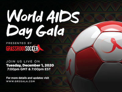 World AIDS Day Gala save the date